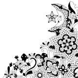 Mexican lace background design. Traditional decorative objects. Talavera ornamental ceramic. Ethnic folk ornament royalty free illustration