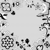 Mexican lace background design. Traditional decorative objects. Talavera ornamental ceramic. Ethnic folk ornament stock illustration