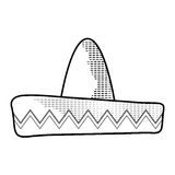Mexican latino hat Royalty Free Stock Photo