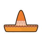 Mexican latino hat Stock Image