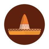 Mexican latino hat Royalty Free Stock Photos