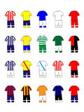 Mexican League Clubs Jerseys Stock Photo