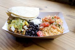 Mexican Lunch Royalty Free Stock Photos