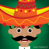 Mexican Man Royalty Free Stock Photography