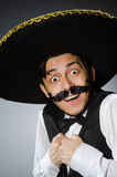 Mexican man in funny Stock Photos