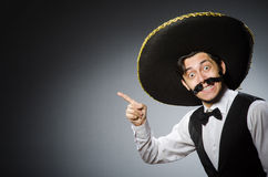 Mexican man Royalty Free Stock Image