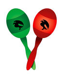 Mexican Maracas Stock Photo