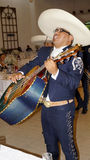 Mexican mariachi singer Royalty Free Stock Photos