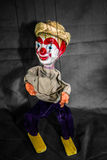 Mexican Marionette Puppet On Grey Royalty Free Stock Images