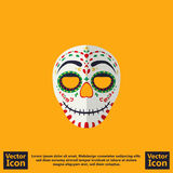 Mexican mask symbol Royalty Free Stock Photos