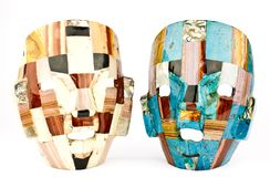 Mexican masks Royalty Free Stock Photography