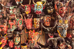 Mexican masks Royalty Free Stock Image
