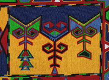Mexican maya background. Royalty Free Stock Photo