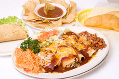 Mexican meal. Southwestern traditional food royalty free stock photo