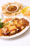 Mexican meal. Southwestern traditional food royalty free stock photography