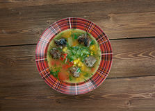 Mexican Meatball Soup Royalty Free Stock Photo