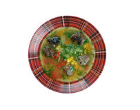 Mexican Meatball Soup Stock Images