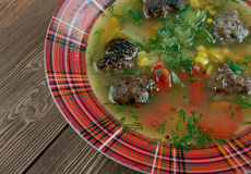 Mexican Meatball Soup Royalty Free Stock Photos