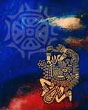 Mexican Modern Art Background Royalty Free Stock Photos