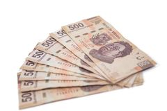Mexican money royalty free stock images