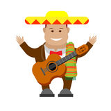 Mexican musician Stock Photos