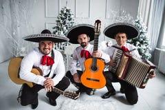 Mexican musician mariachi Stock Photos