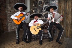 Mexican musician mariachi band Royalty Free Stock Images