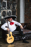 Mexican musician mariachi Stock Photo