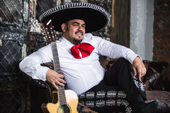 Mexican musician mariachi Royalty Free Stock Photo