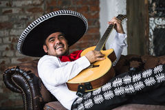 Mexican musician mariachi Royalty Free Stock Photography