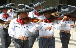 Mexican musicians Royalty Free Stock Images