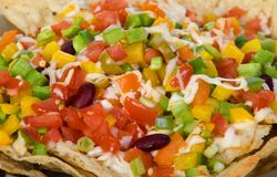 Mexican nachos Royalty Free Stock Photo