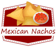 Mexican Nachos Stock Photo