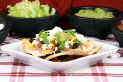 Mexican nachos perfect meal Stock Photography