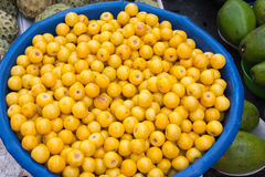 Mexican nance or nanche fruit Royalty Free Stock Photo