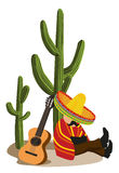 Mexican Napping Stock Photography
