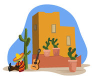 Mexican napping Royalty Free Stock Images