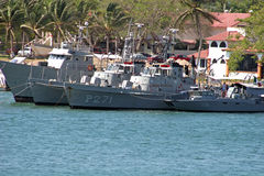 Mexican Navy. Vessels Stock Images