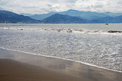 Mexican Pacific Ocean shore Royalty Free Stock Photo