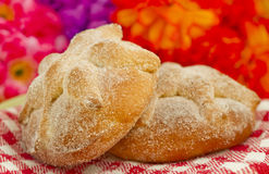 Mexican Pan de Muerto Immagine Stock