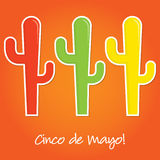 Mexican paper cut out card Royalty Free Stock Photography