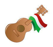 Mexican Party. Illustration of a Mexican guitar party icon Royalty Free Stock Photography