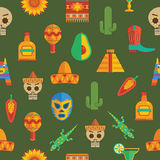 Mexican pattern decoration Stock Images