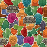 Mexican pattern Royalty Free Stock Photos