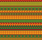 Mexican pattern. Vector seamless pattern with traditional mexican elements Royalty Free Stock Image