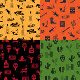 Mexican patterns Royalty Free Stock Photo