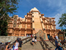 Mexican Pavilion, World Showcase, Epcot Royalty Free Stock Images