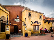 Mexican Pavilion, World Showcase, Epcot Stock Images
