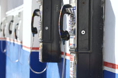 Mexican Pay phones royalty free stock photography