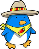 Mexican Penguin Vector Royalty Free Stock Image